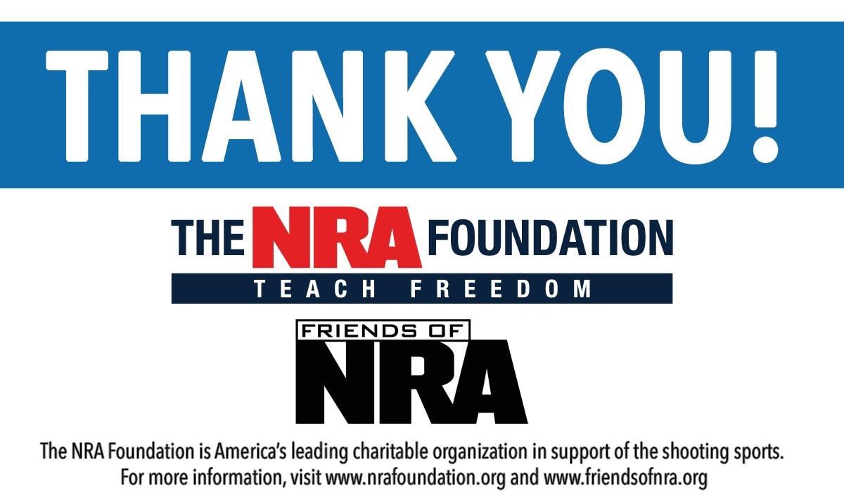 NRA Thanks